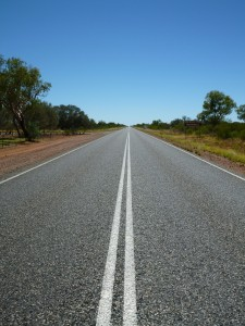 Väg i Australien